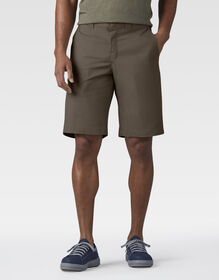 "FLEX 11"" Relaxed Fit Work Shorts - Mushroom (MR1)"