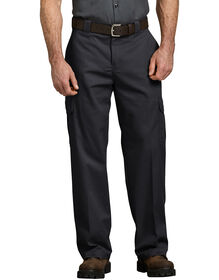 FLEX Relaxed Fit Straight Leg Cargo Pants - Black (BK)