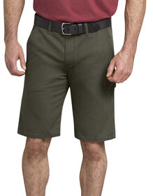 "11"" Tough Max™ Duck Carpenter Shorts - Stonewashed Moss Green (SMS)"
