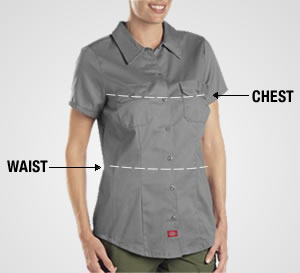 Measuring for Fit for Women's Tops