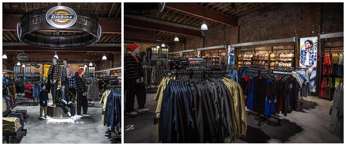 Dickies Fort Worth Retail Store