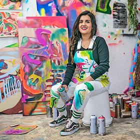 Fort Worth-Based Artist Shares Her Artistic Journey