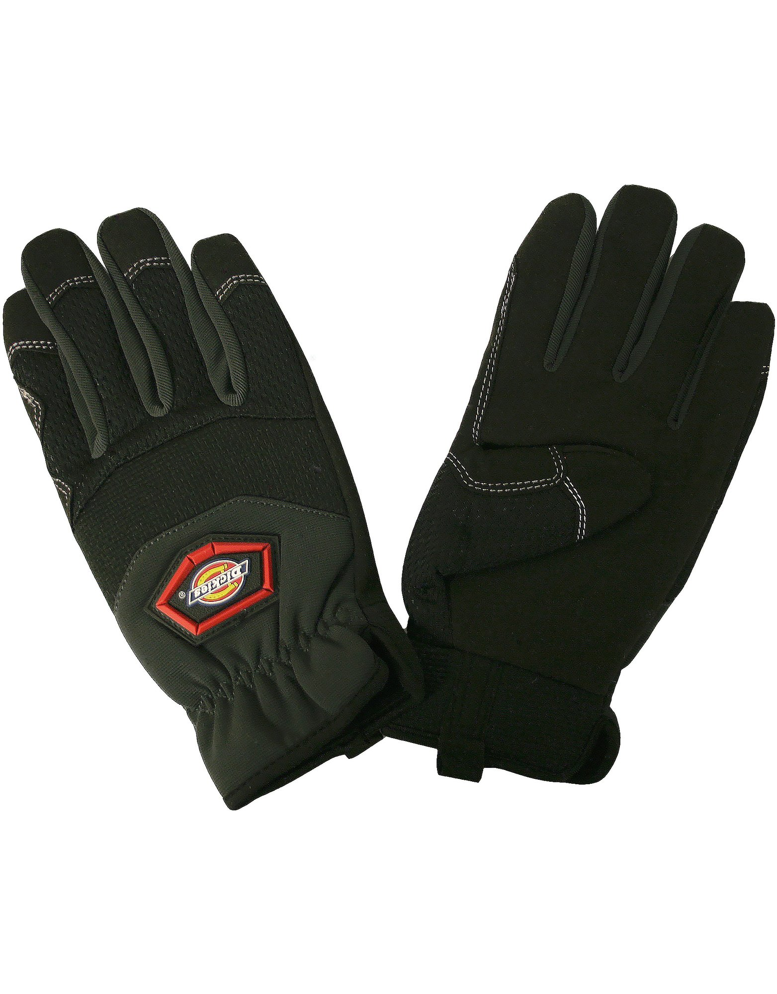 Mechanics Gloves, Comfort Grip, Medium - Gray (GY)