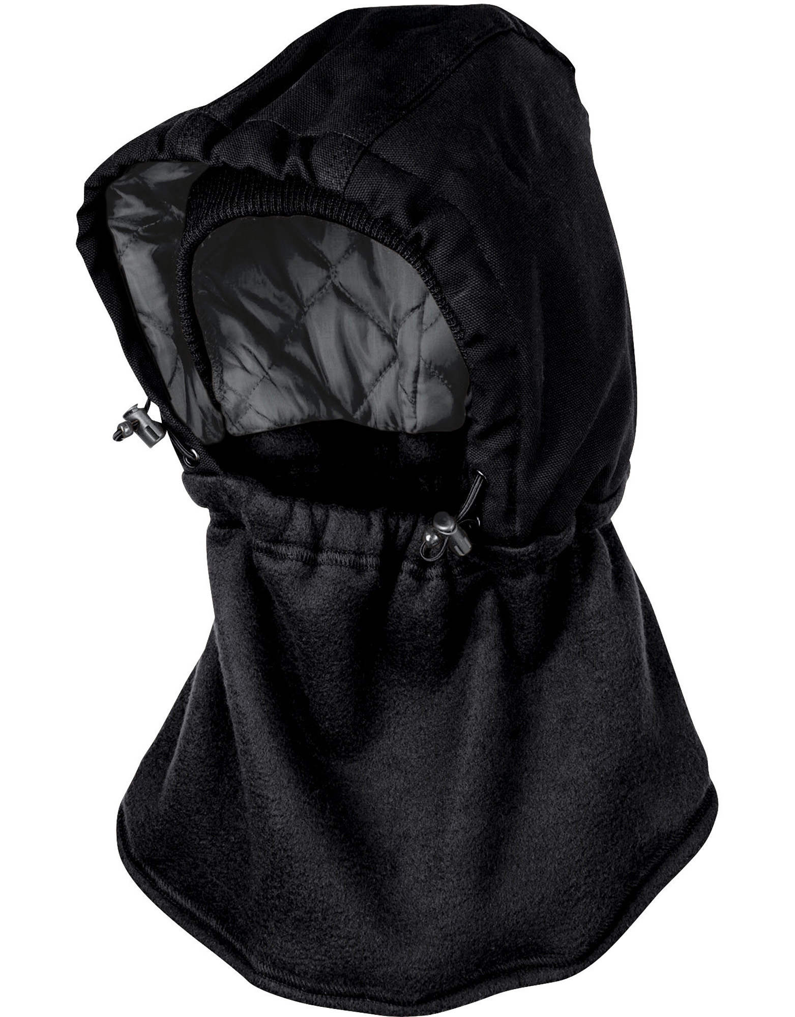 Hooded Neck Gaiter - Black (BK)