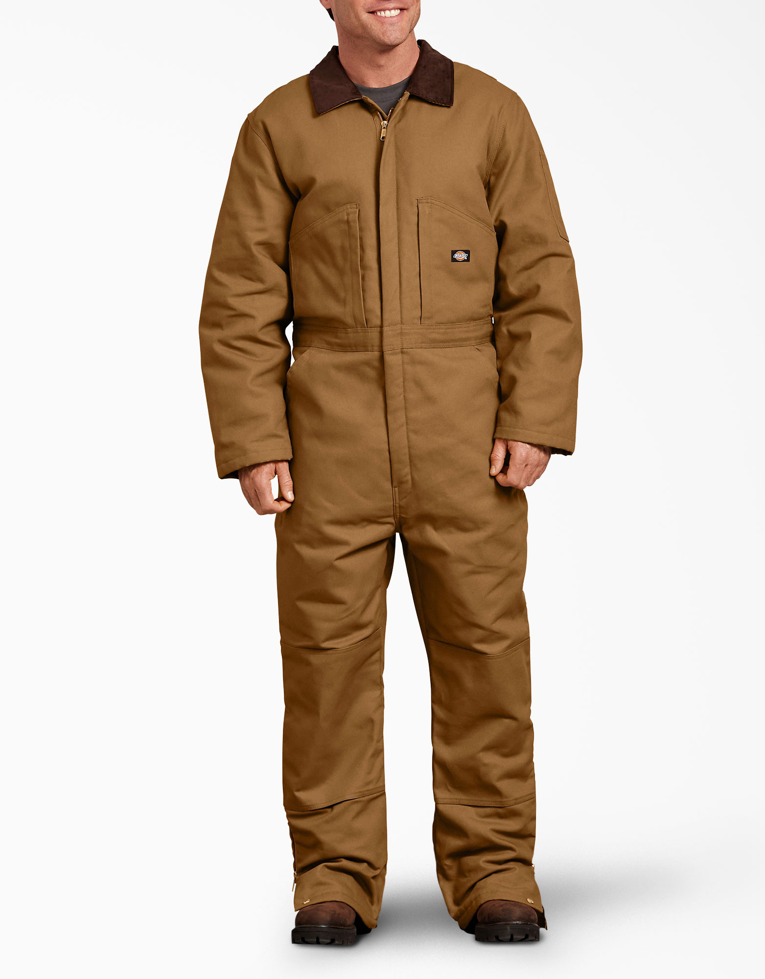 Duck Insulated Coveralls - Brown Duck (BD)