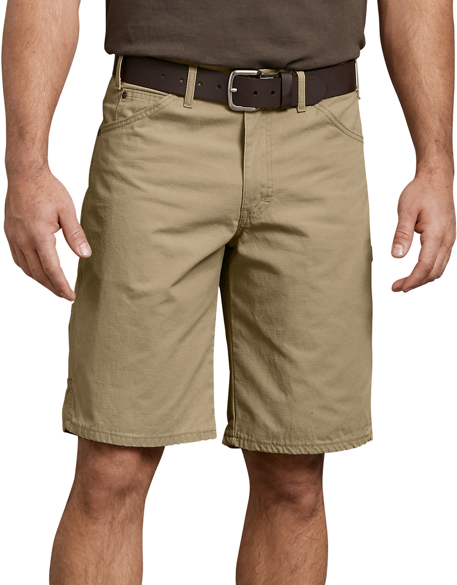 "11"" Relaxed Fit Ripstop Carpenter Shorts - Khaki (RKH)"