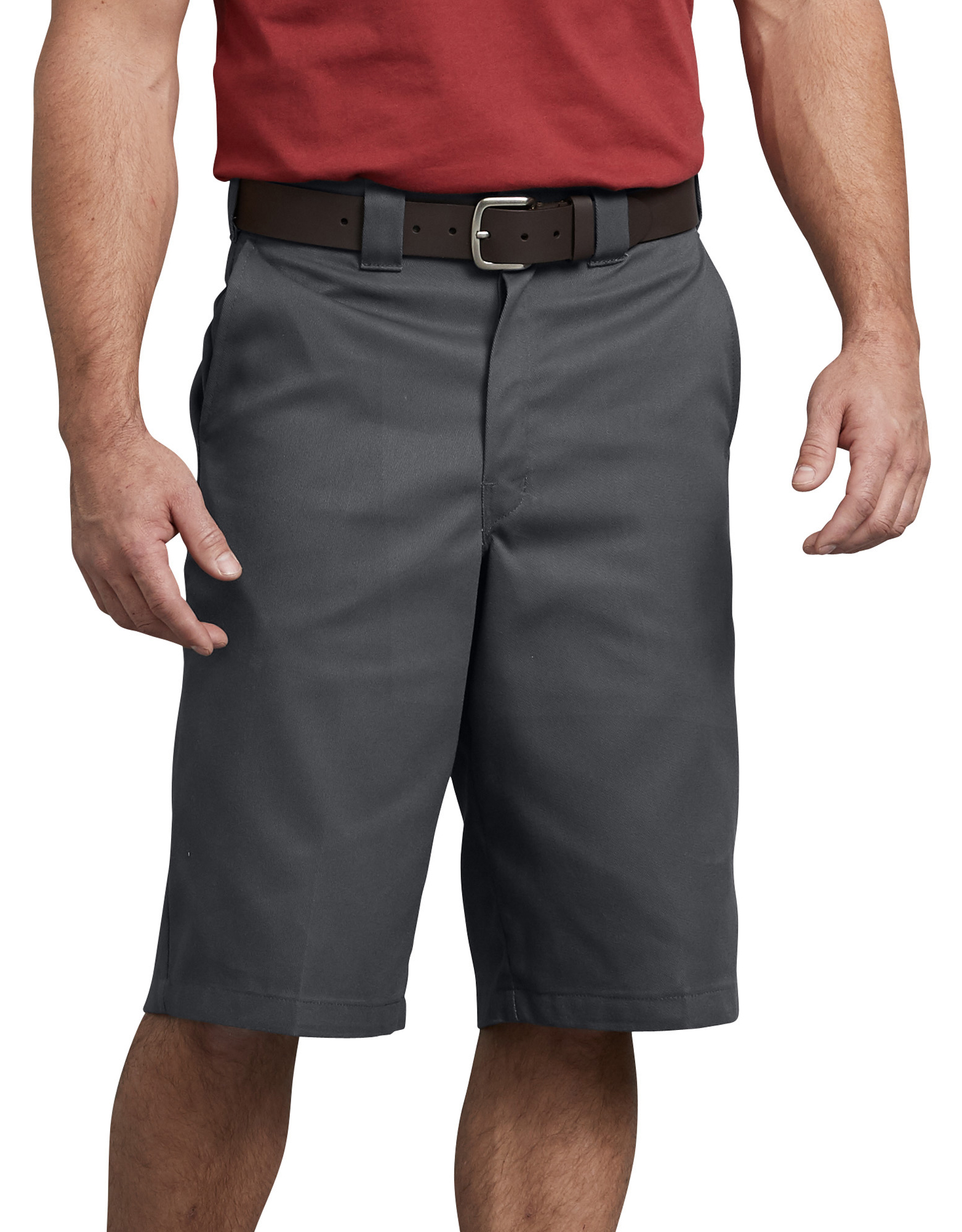 "FLEX 13"" Loose Fit Multi-Use Pocket Work Shorts - Charcoal Gray (CH)"