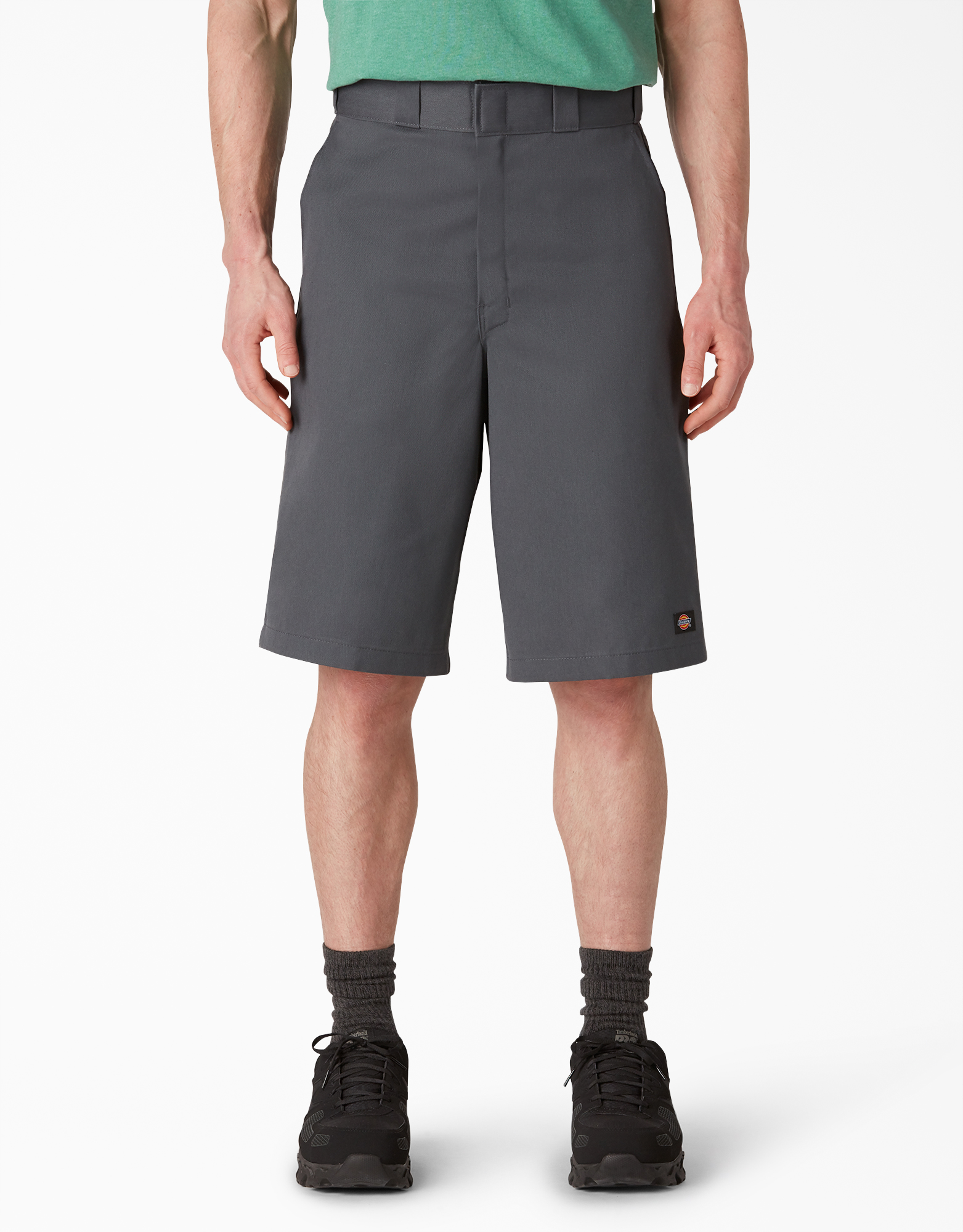 "13"" Loose Fit Multi-Use Pocket Work Shorts - Charcoal Gray (CH)"