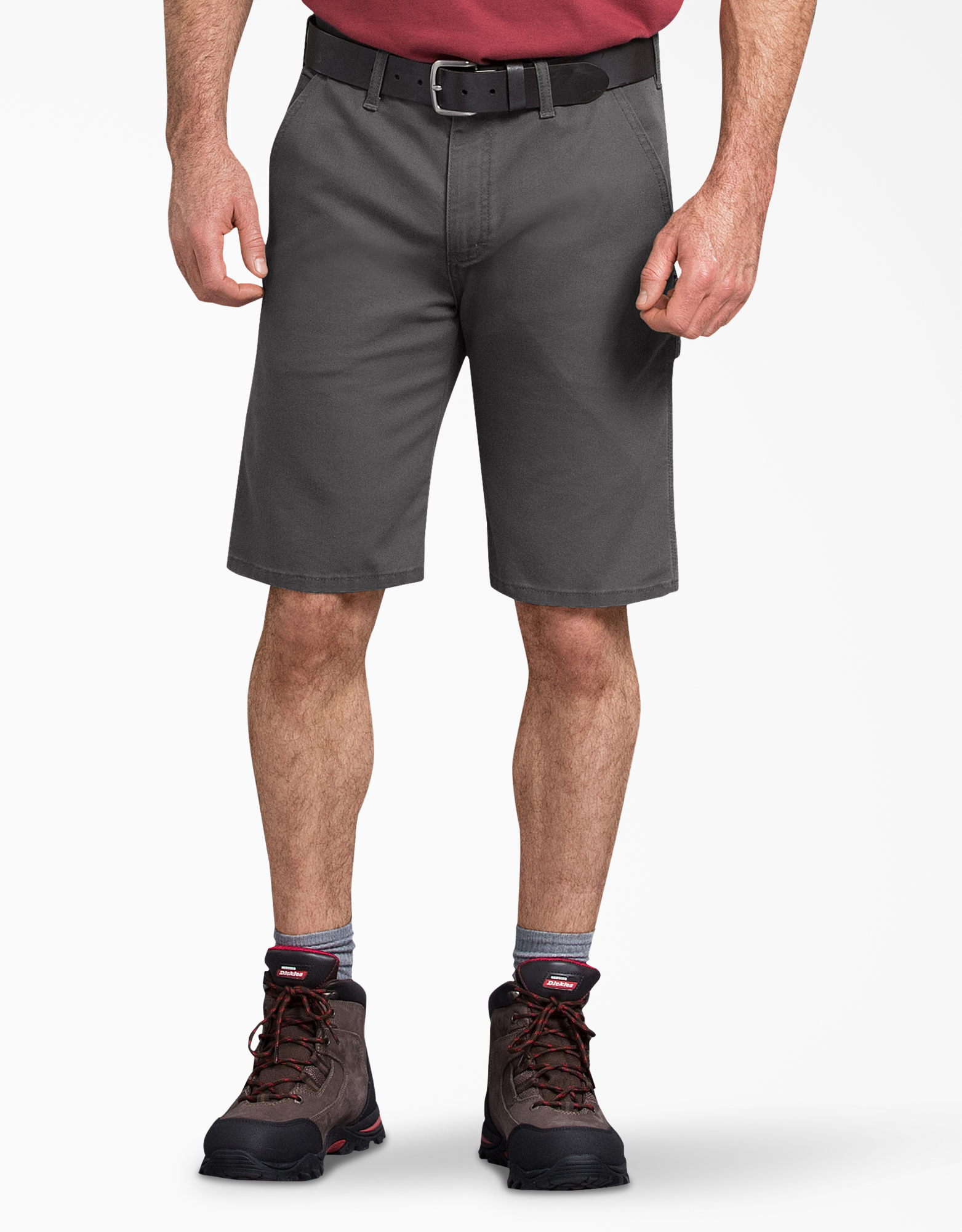 "11"" Tough Max™ Duck Carpenter Shorts - Stonewashed Gray (SSL)"