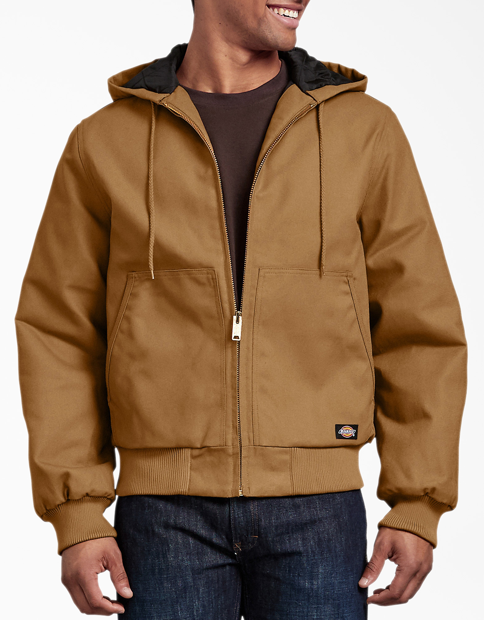 Rigid Duck Hooded Jacket - Brown Duck (BD)