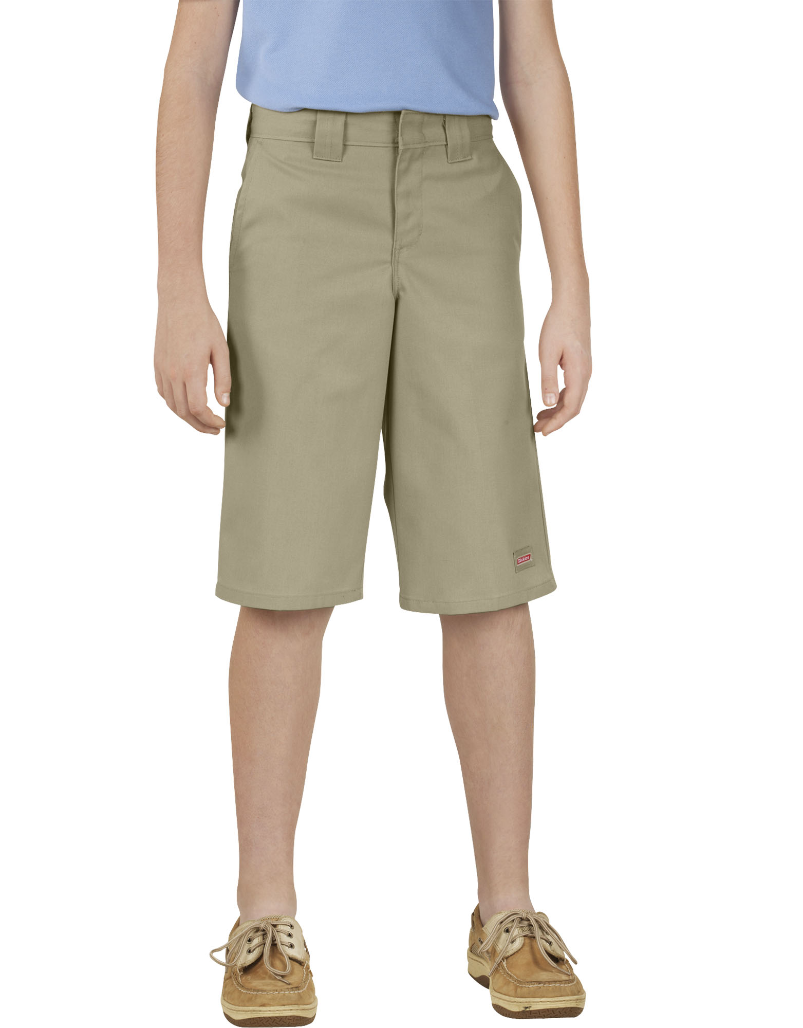Genuine Dickies Boys' Classic Fit Multi-Use Pocket Shorts, 4-18H - Desert Khaki (DS)