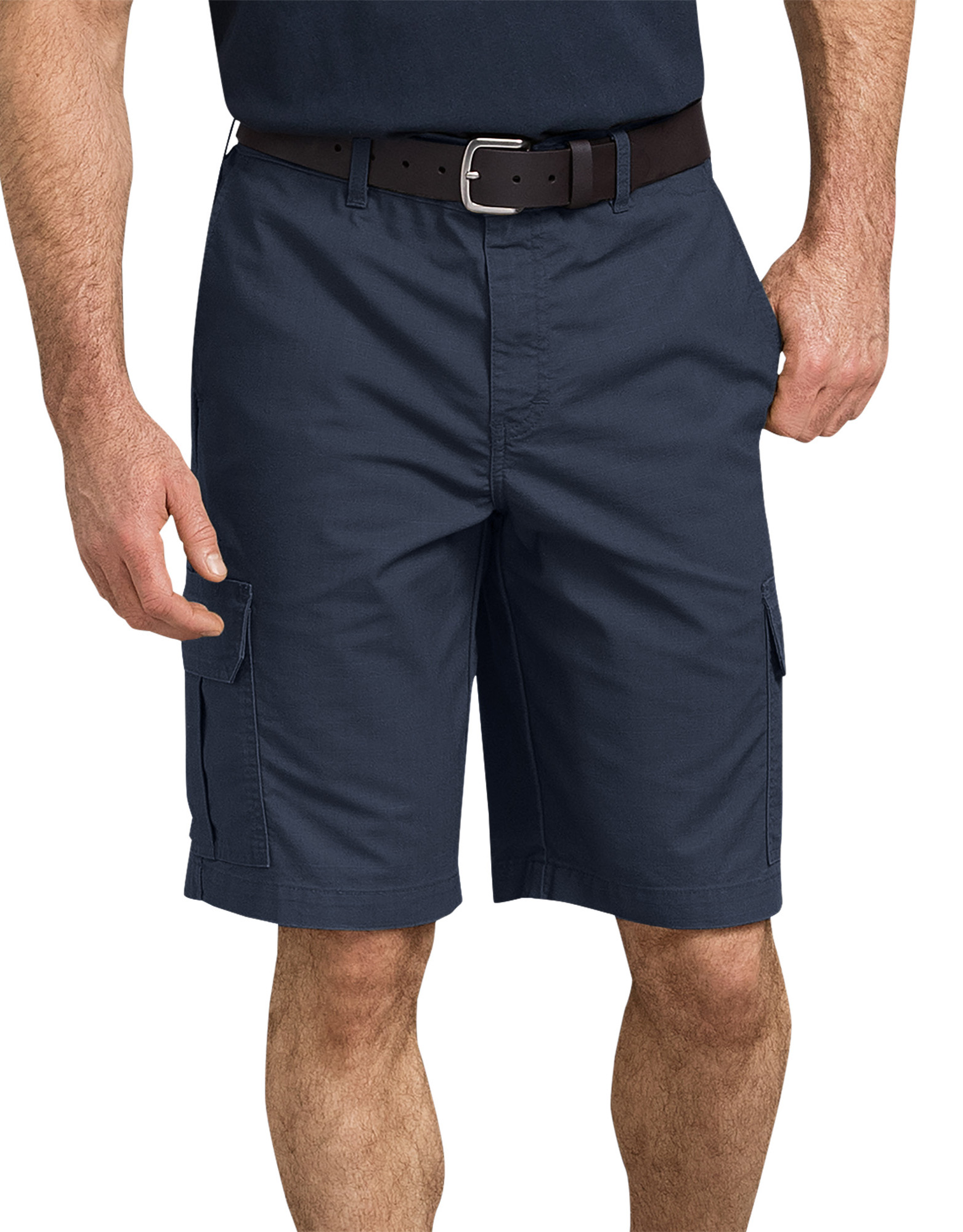 "11"" Tough Max™ Ripstop Cargo Shorts - Dark Navy Blue (RDN)"