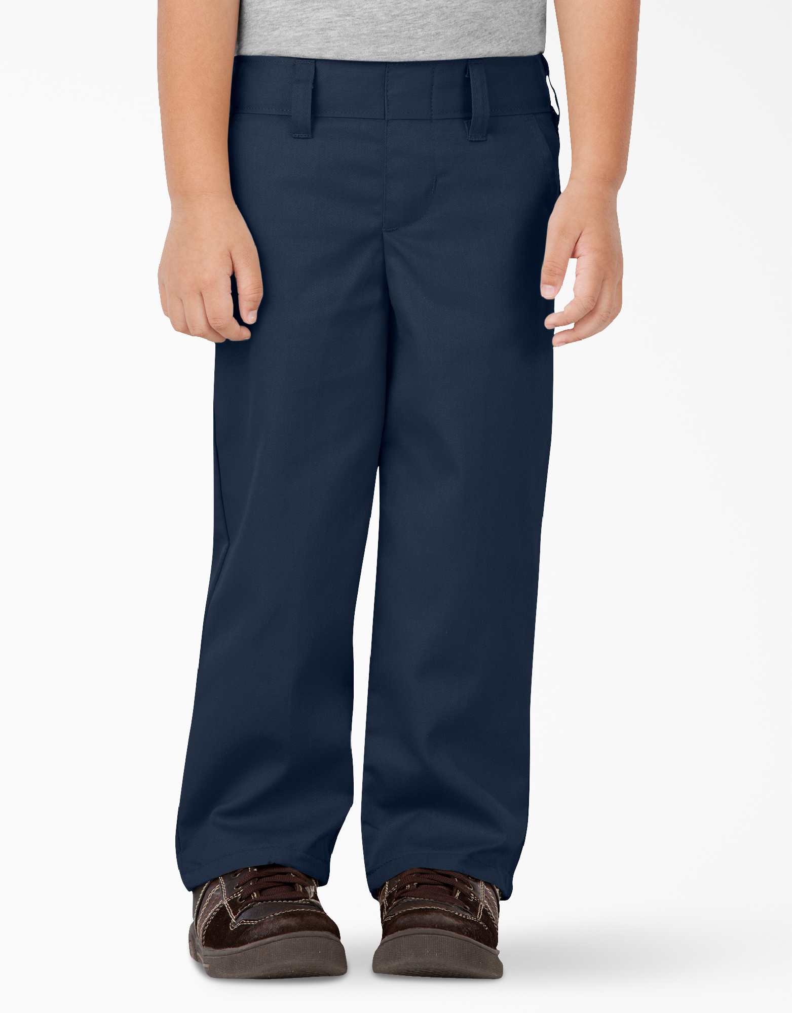 Toddler Classic Fit Straight Leg Pull-on Pants - Dark Navy (DN)