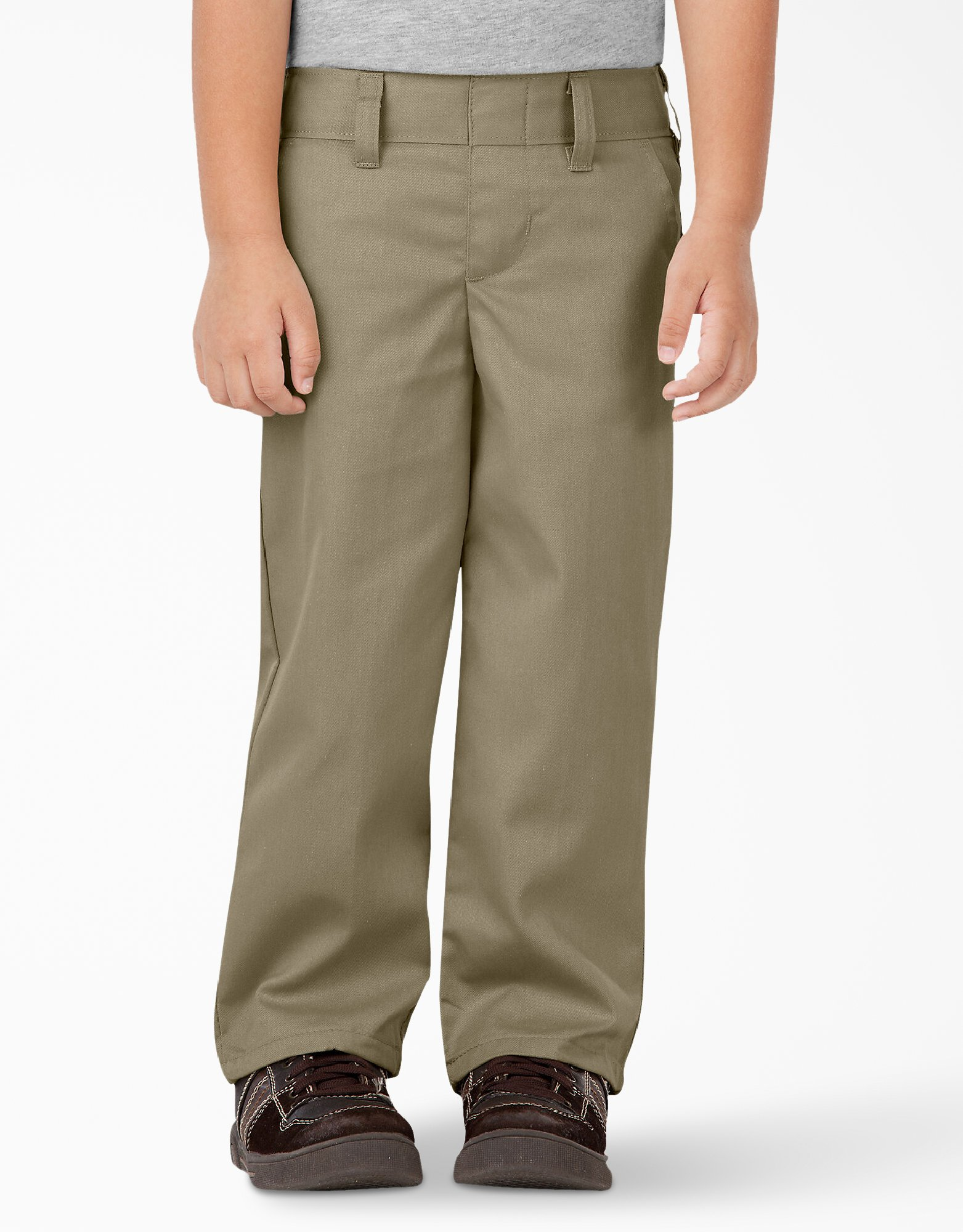 Toddler Classic Fit Straight Leg Pull-on Pants - Military Khaki (KH)