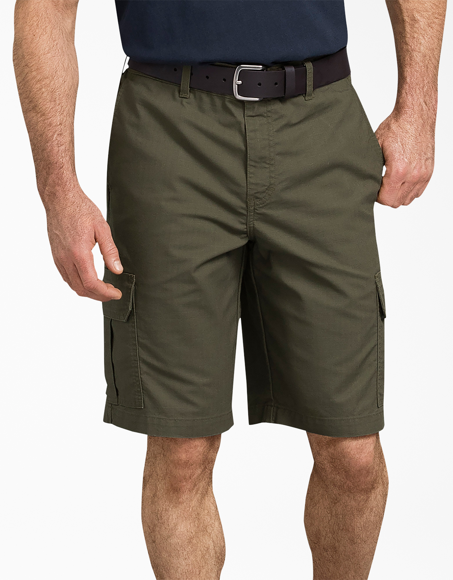 "11"" Tough Max™ Ripstop Cargo Shorts - Moss Green (RMS)"