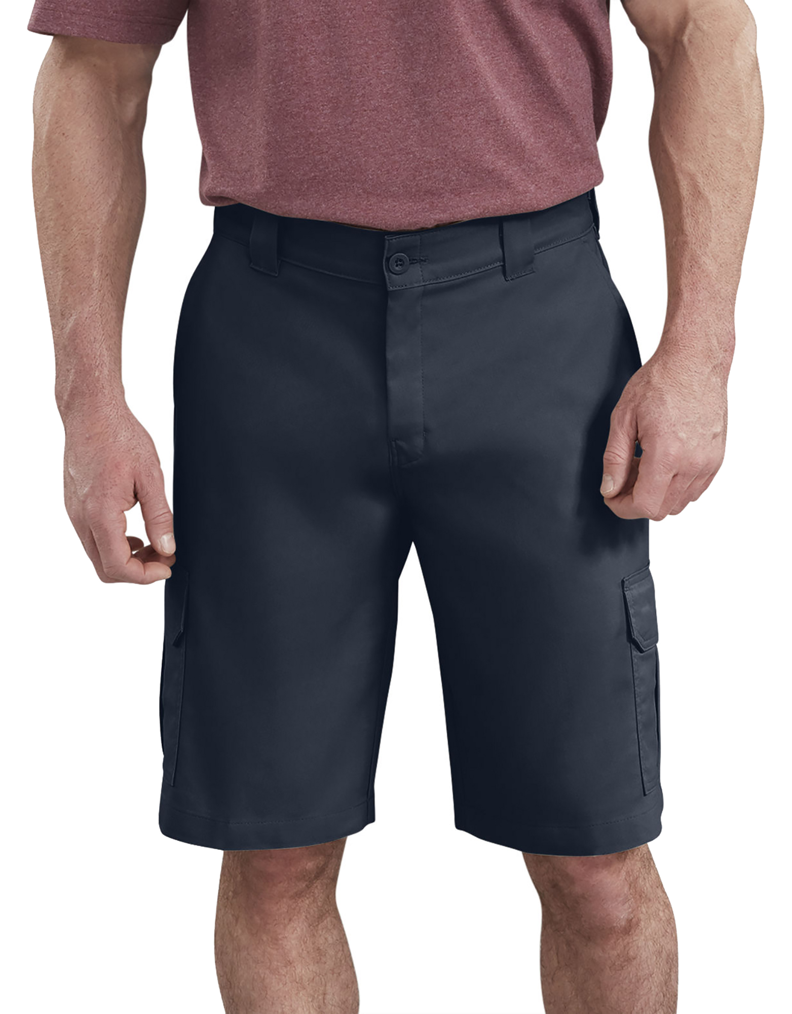 "11"" FLEX Temp-iQ™ Active Waist Cargo Shorts - Dark Navy (DN)"