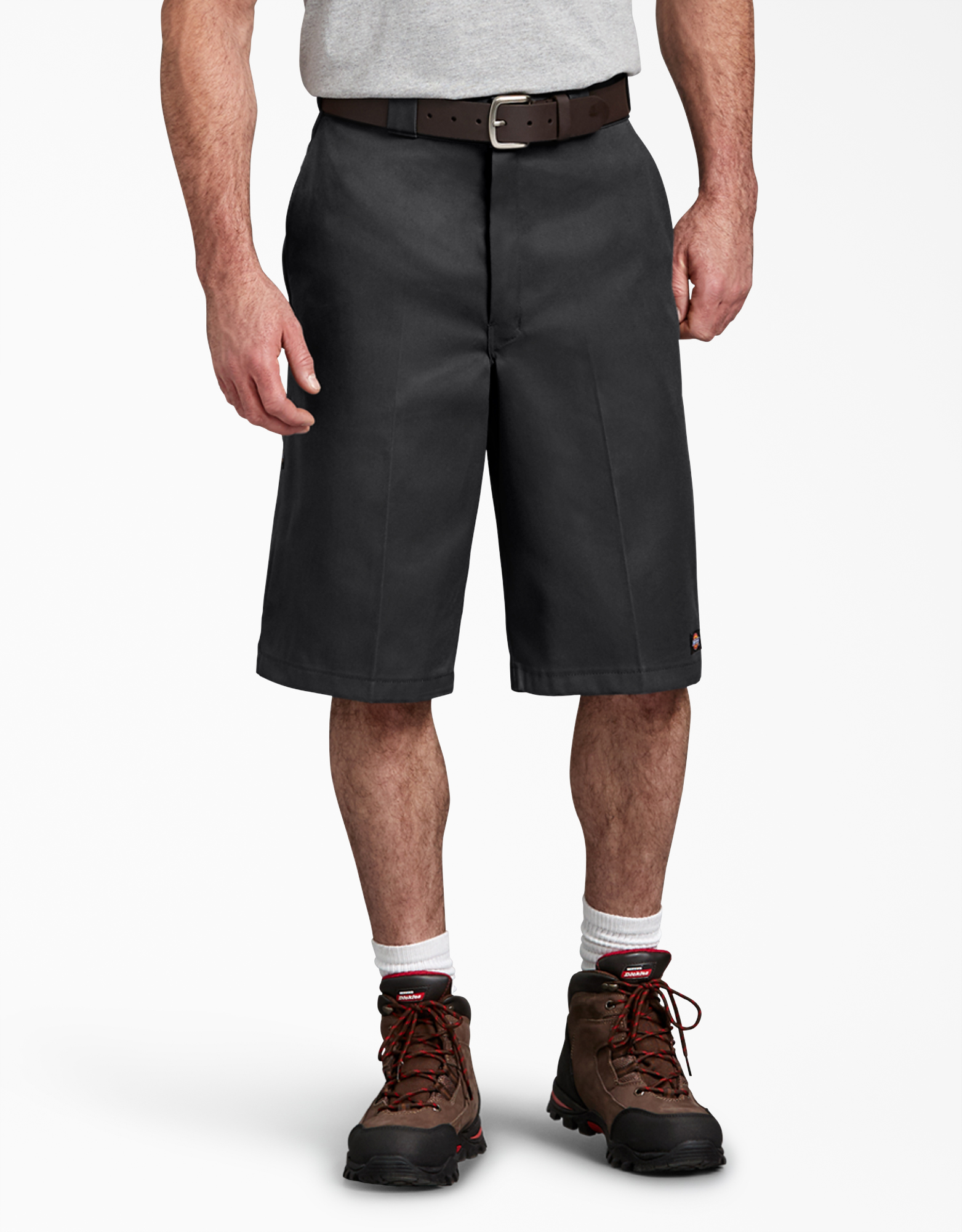 "13"" Loose Fit Multi-Use Pocket Work Shorts - Black (BK)"