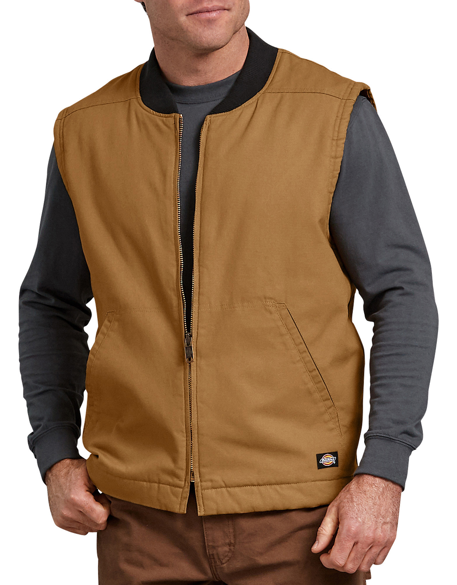 Sanded Duck Insulated Vest - Brown Duck (RBD)