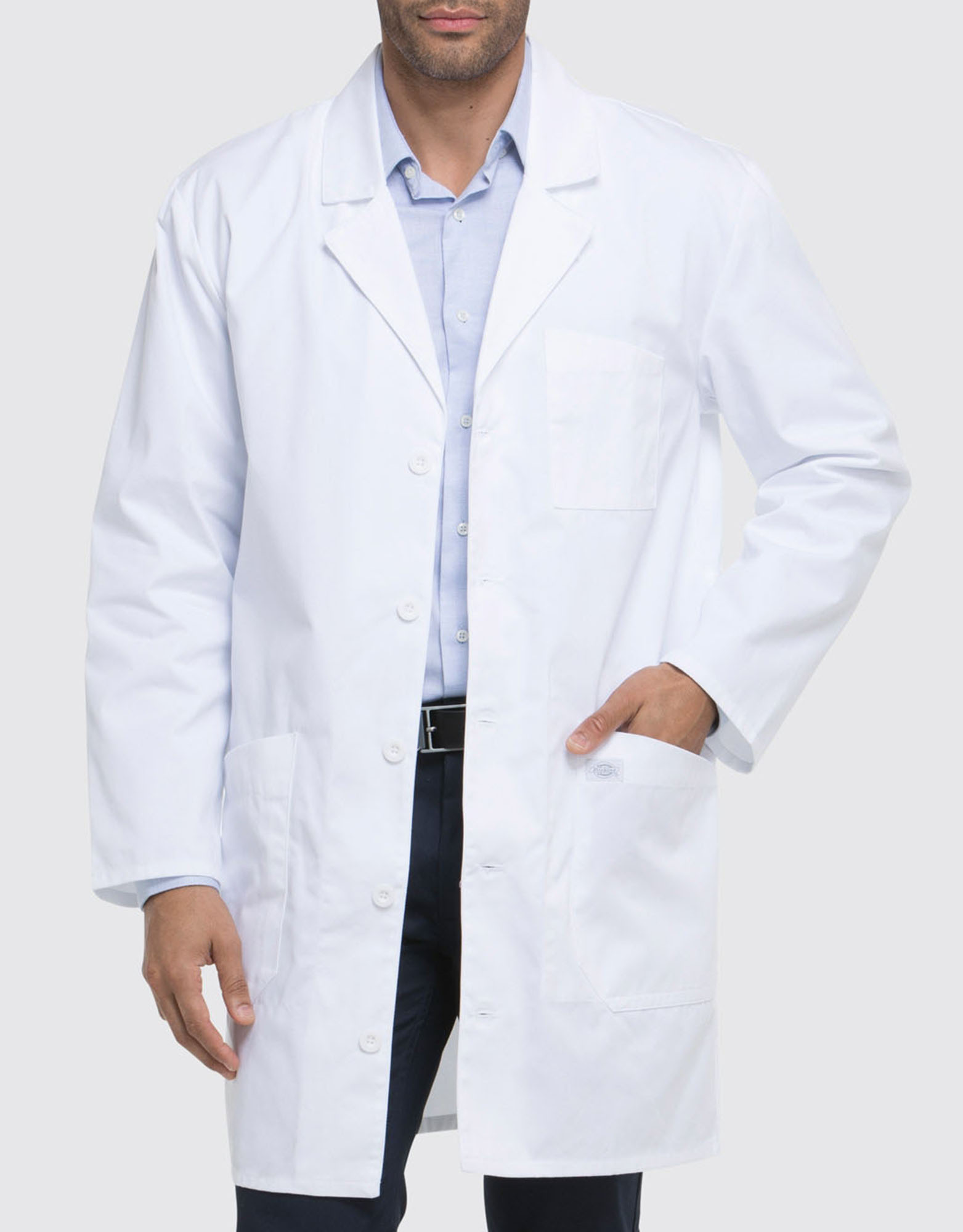 "Unisex EDS Signature 37"" Lab Coat - White (DWH)"