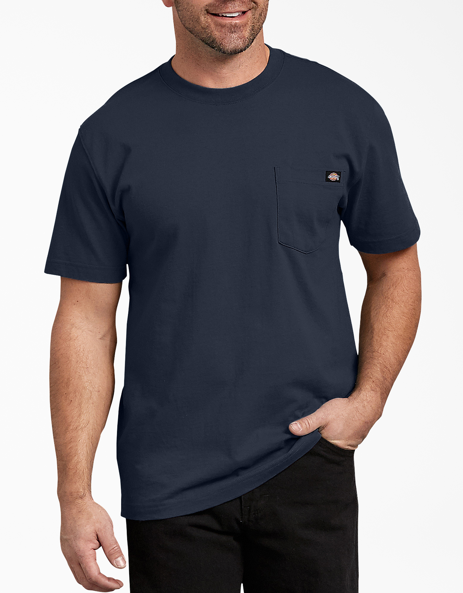 Short Sleeve Heavyweight T-Shirt - Dark Navy (DN)