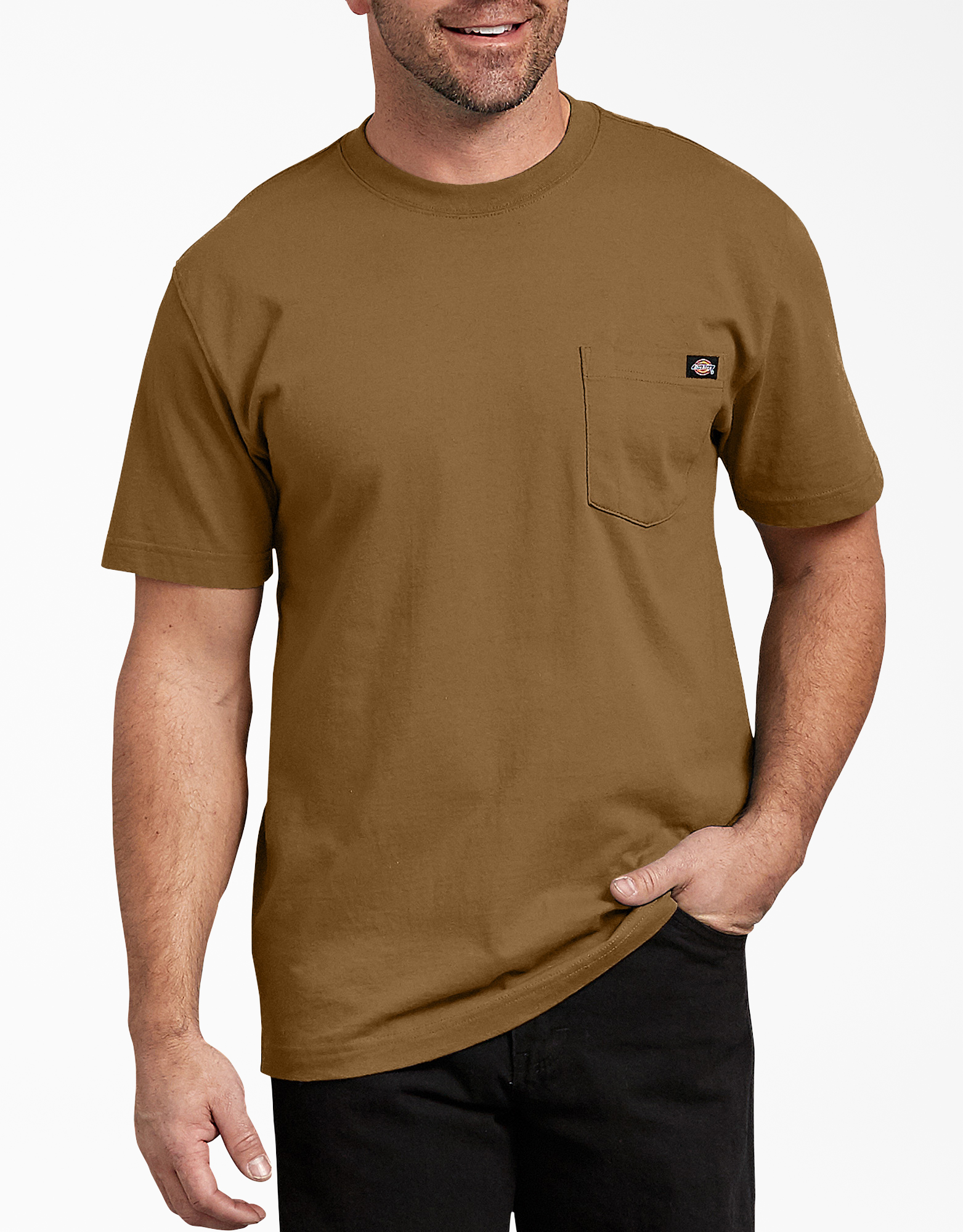 Short Sleeve Heavyweight T-Shirt - Brown Duck (BD)
