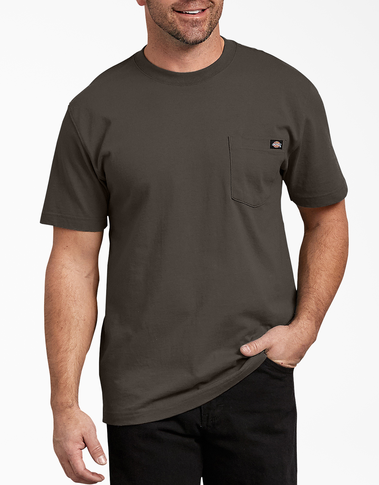 Short Sleeve Heavyweight T-Shirt - Black Olive (BV)