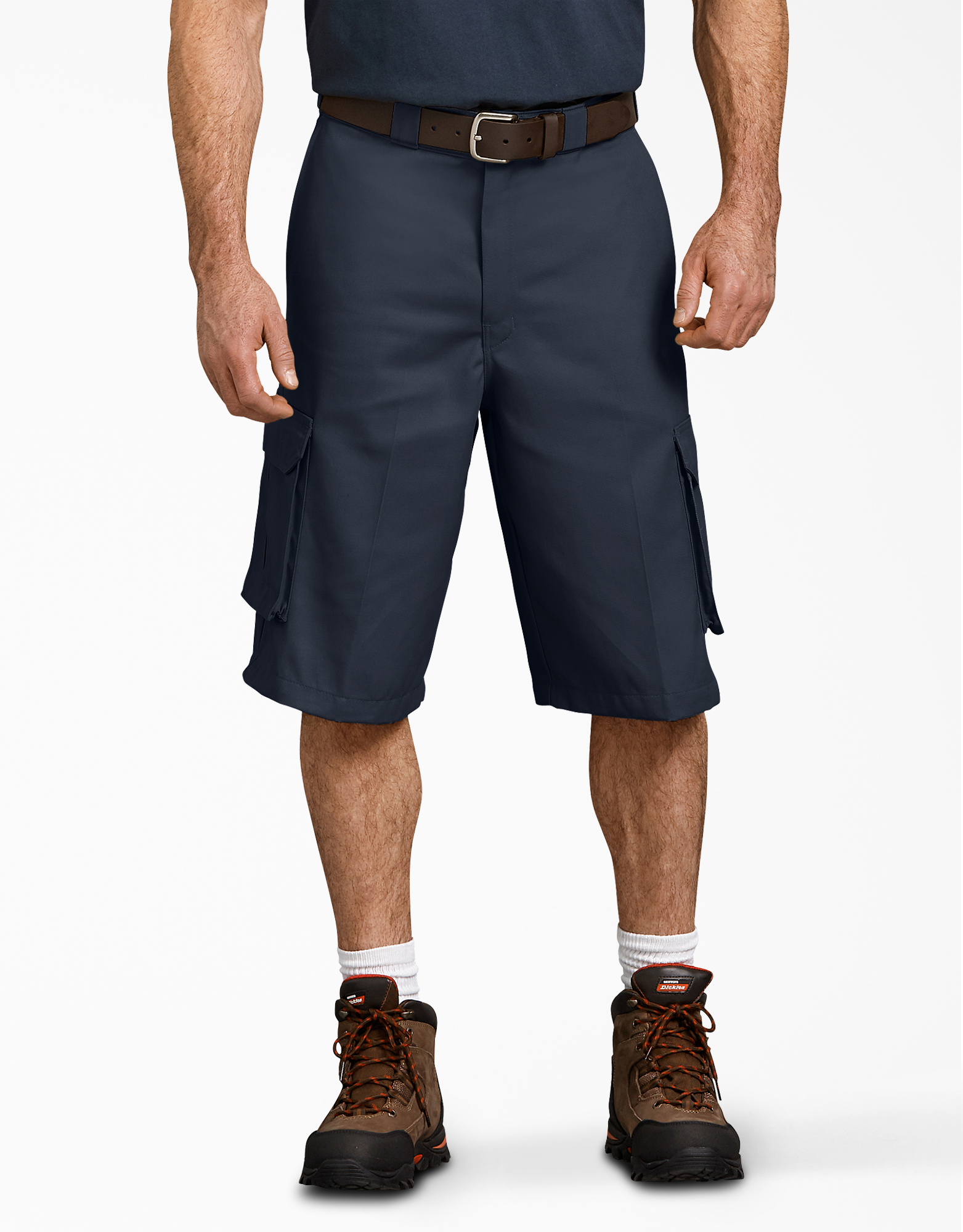 "13"" Loose Fit Cargo Shorts - Dark Navy (DN)"