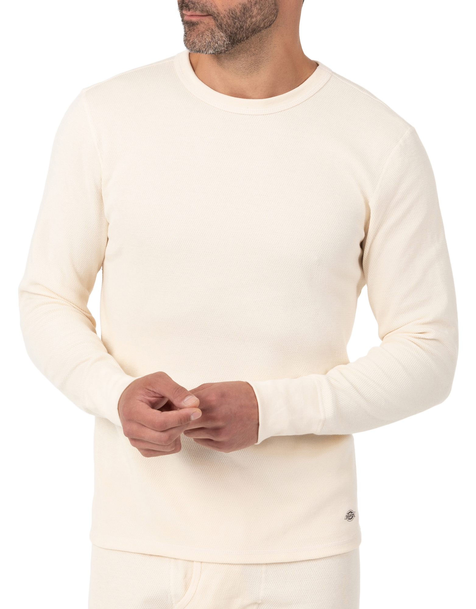 Men's Heavyweight Long Johns Thermal Underwear Top - Natural Beige (NT)