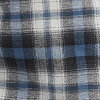 Light Gray Blue Plaid (XEP)