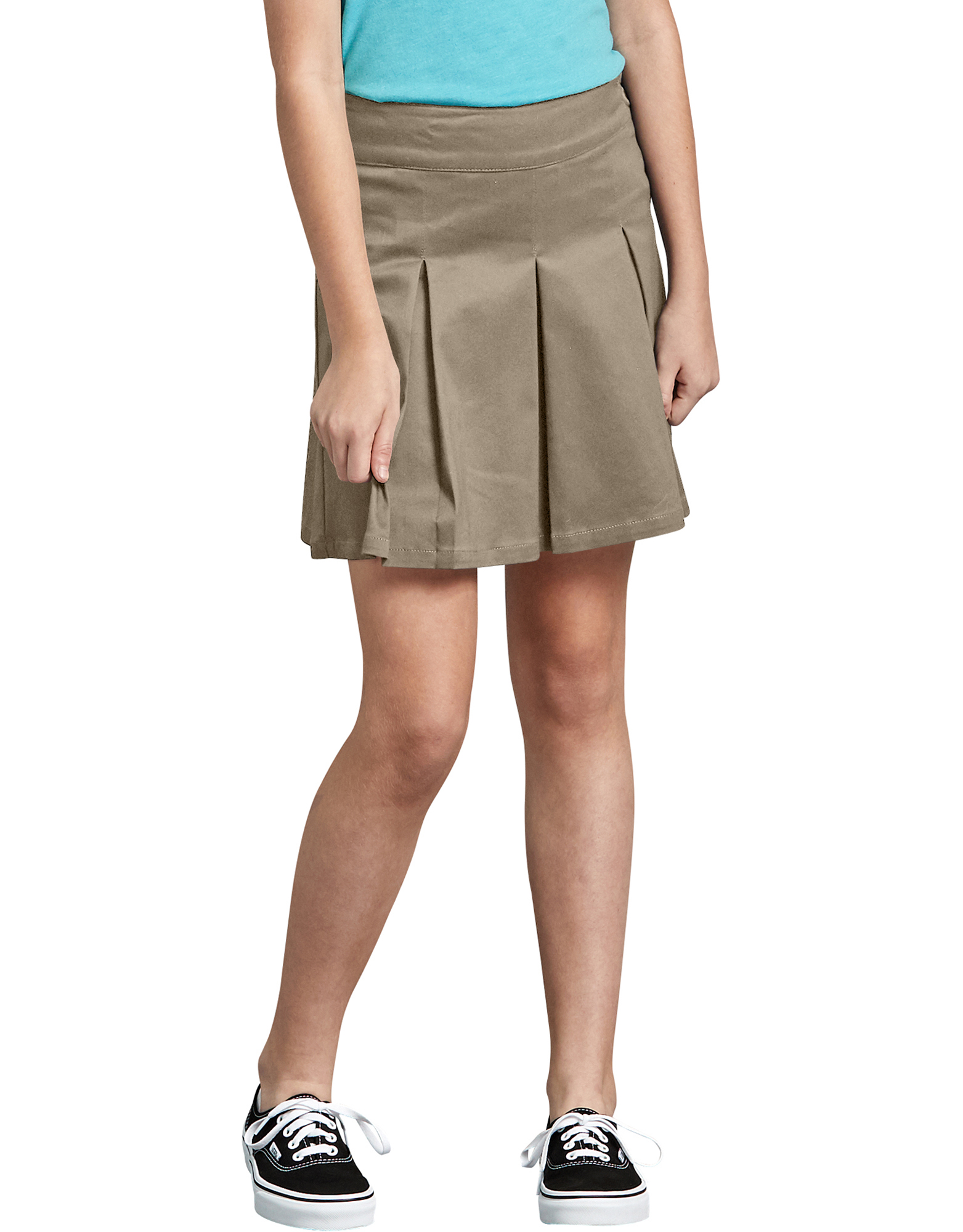 Girls' Super Stretch Skort - Desert Khaki (DS)