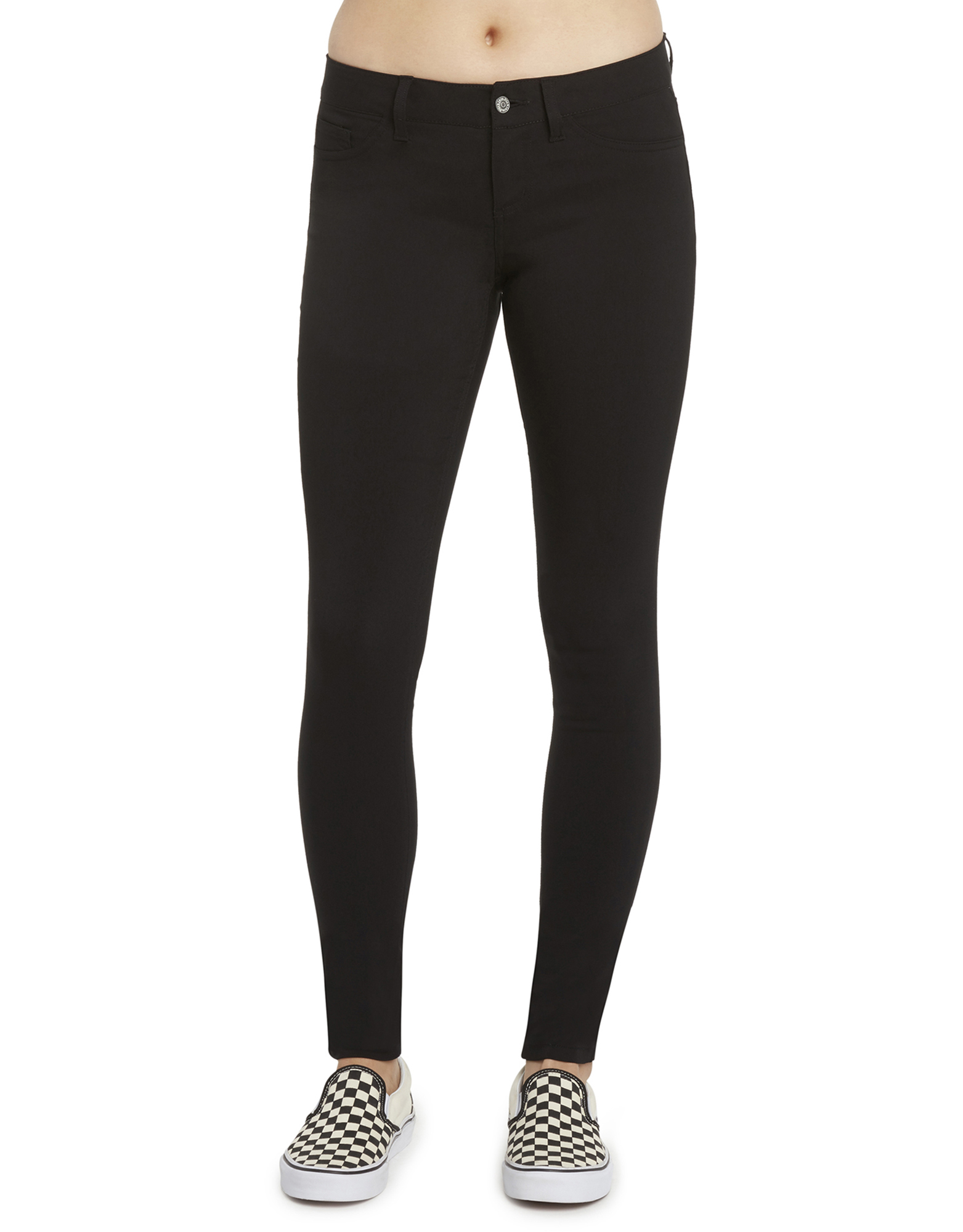 Dickies Girl Juniors' Ultimate Stretch Day to Night Pants - Black (BLK)