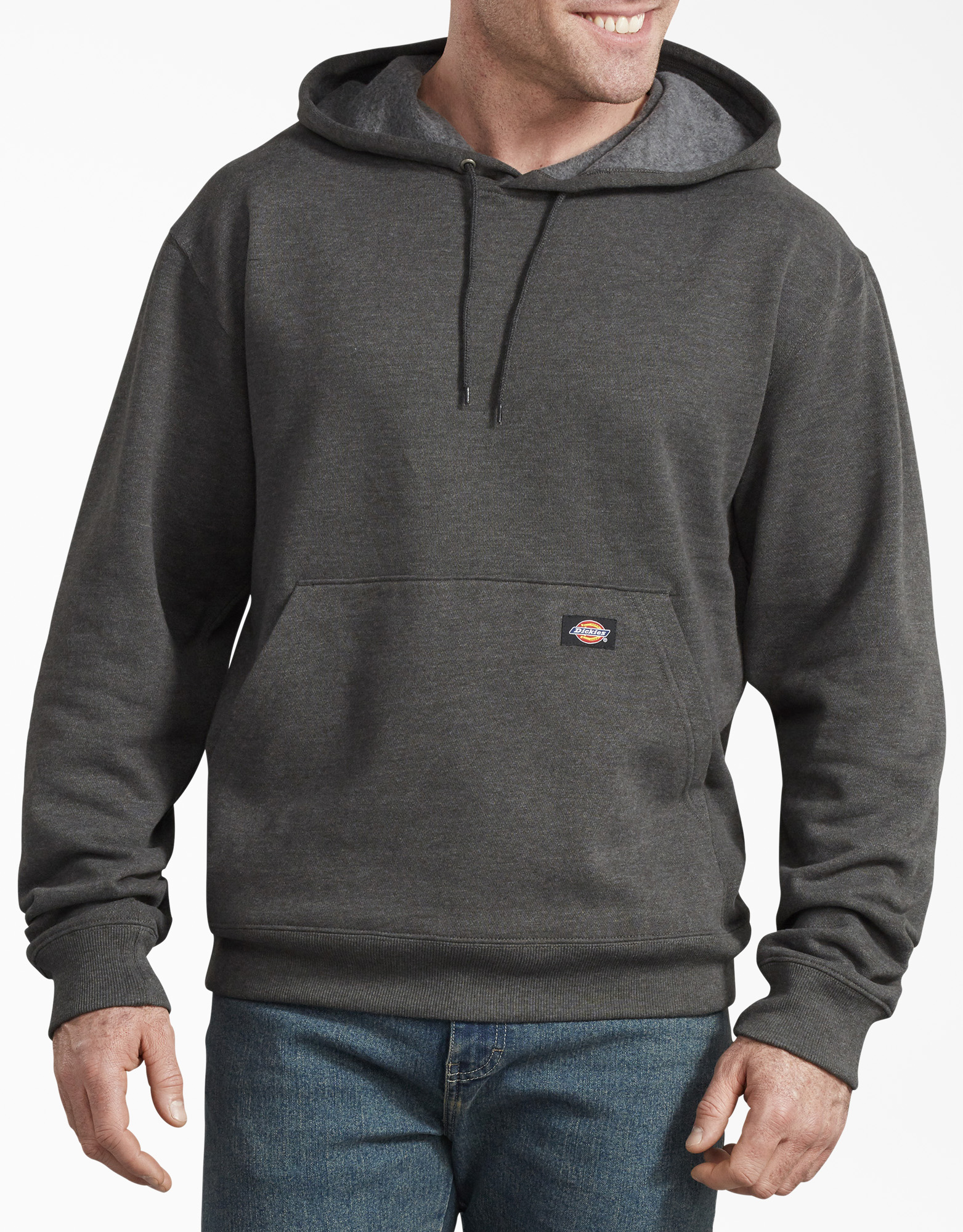 Fleece Pullover Hoodie - Dark Heather Gray (IYD)