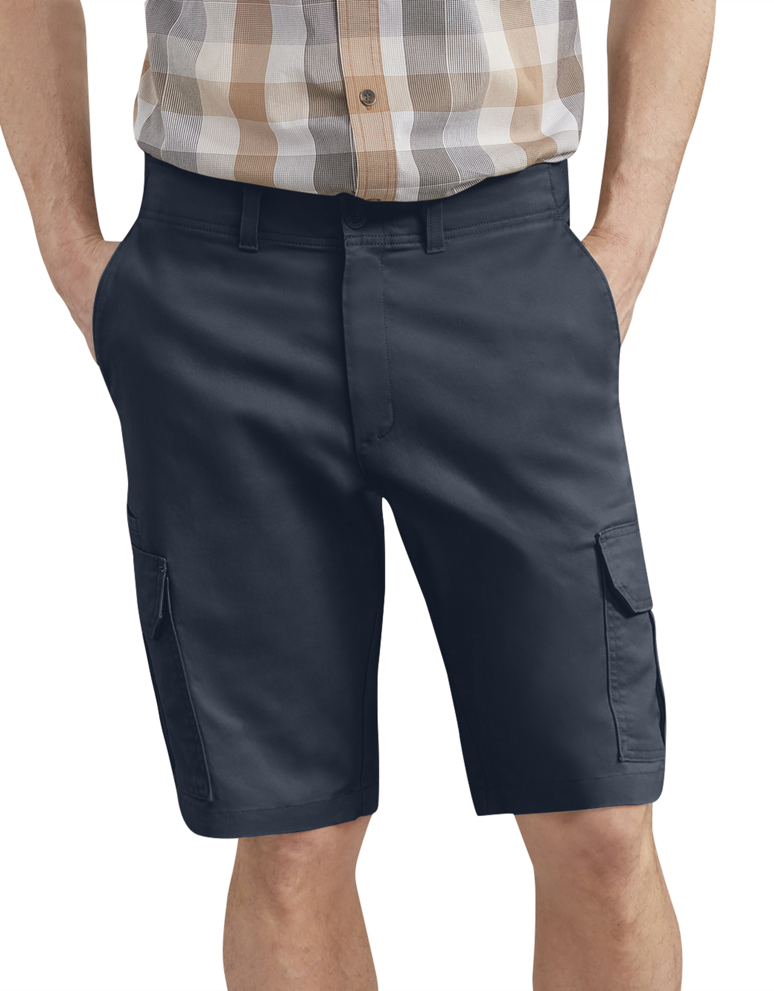 "Dickies X-Series 11"" Active Waist Washed Cargo Shorts - Dark Navy Blue (RDN)"