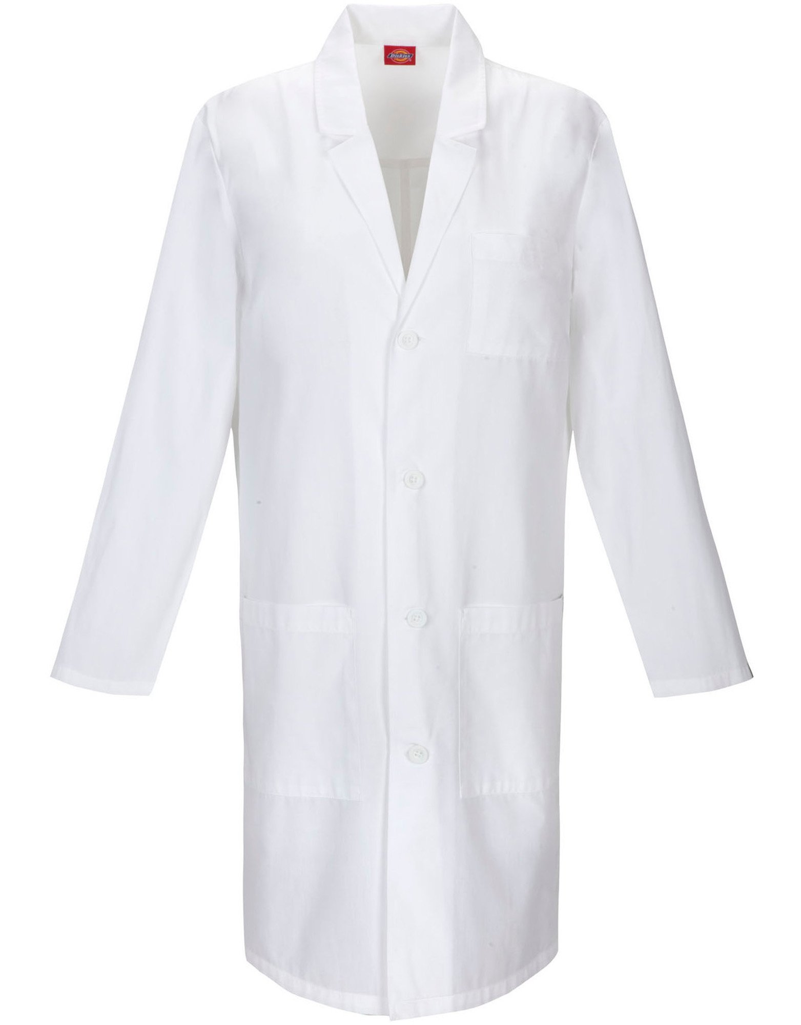"Unisex EDS Signature 40"" Lab Coat - White (DWH)"