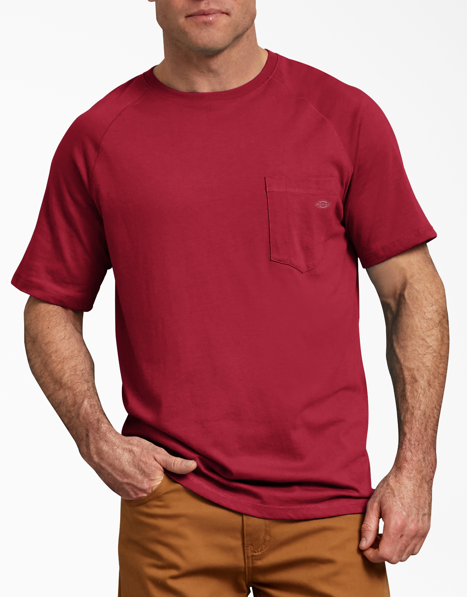 Temp-iQ™ Performance Cooling T-Shirt - English Red (ER)