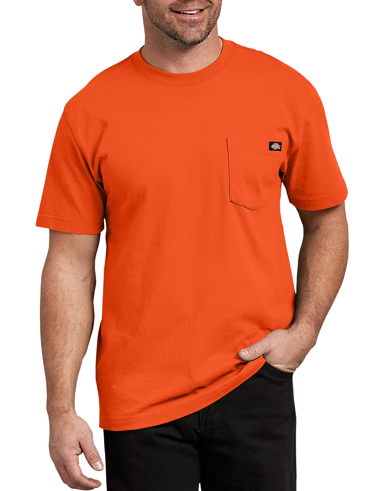 Short Sleeve Heavyweight T-Shirt - Orange (OR)