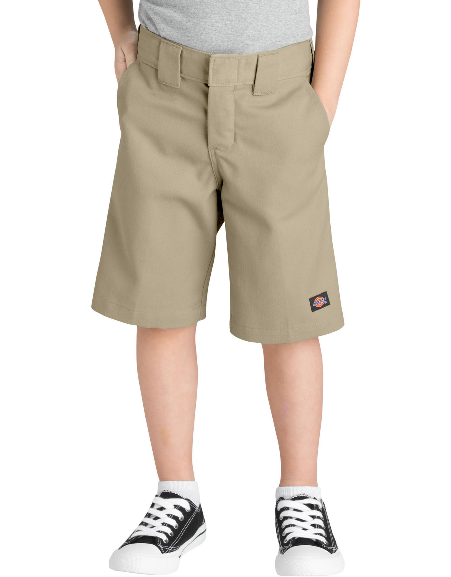 Boys' Relaxed Fit Shorts with Extra Pocket, 4-7 - Desert Khaki (DS)