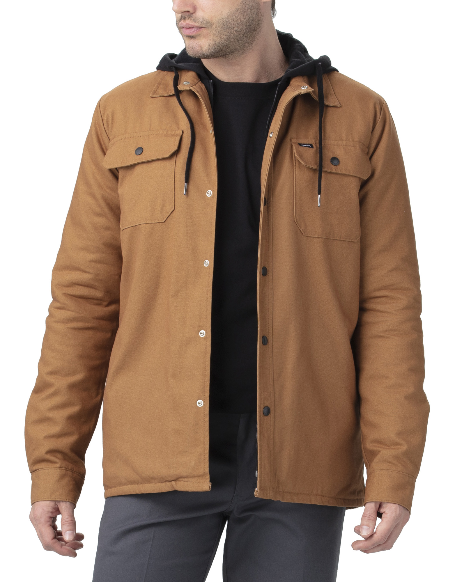 Dickies '67 Duck Shirt Jacket - Brown Duck (BD)