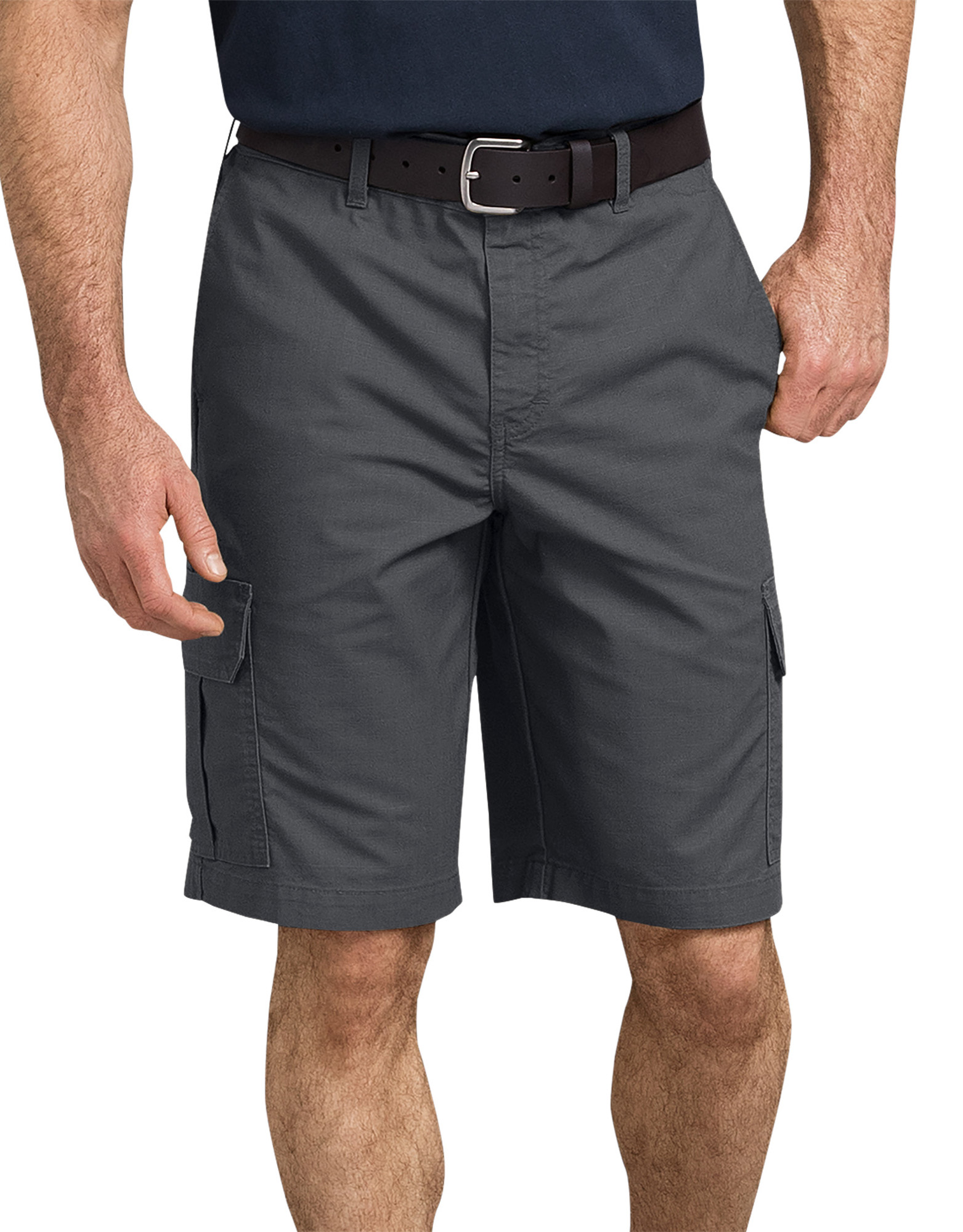 "11"" Tough Max™ Ripstop Cargo Shorts - Rinsed Charcoal Gray (RCH)"
