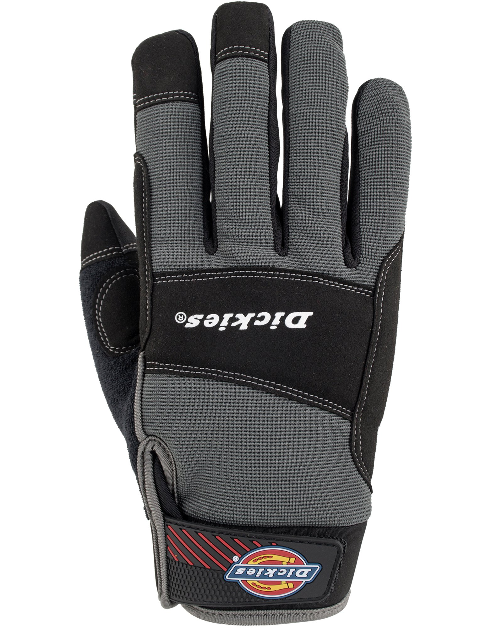 Performance Gloves with Breathable Padding - Charcoal Gray (CH)