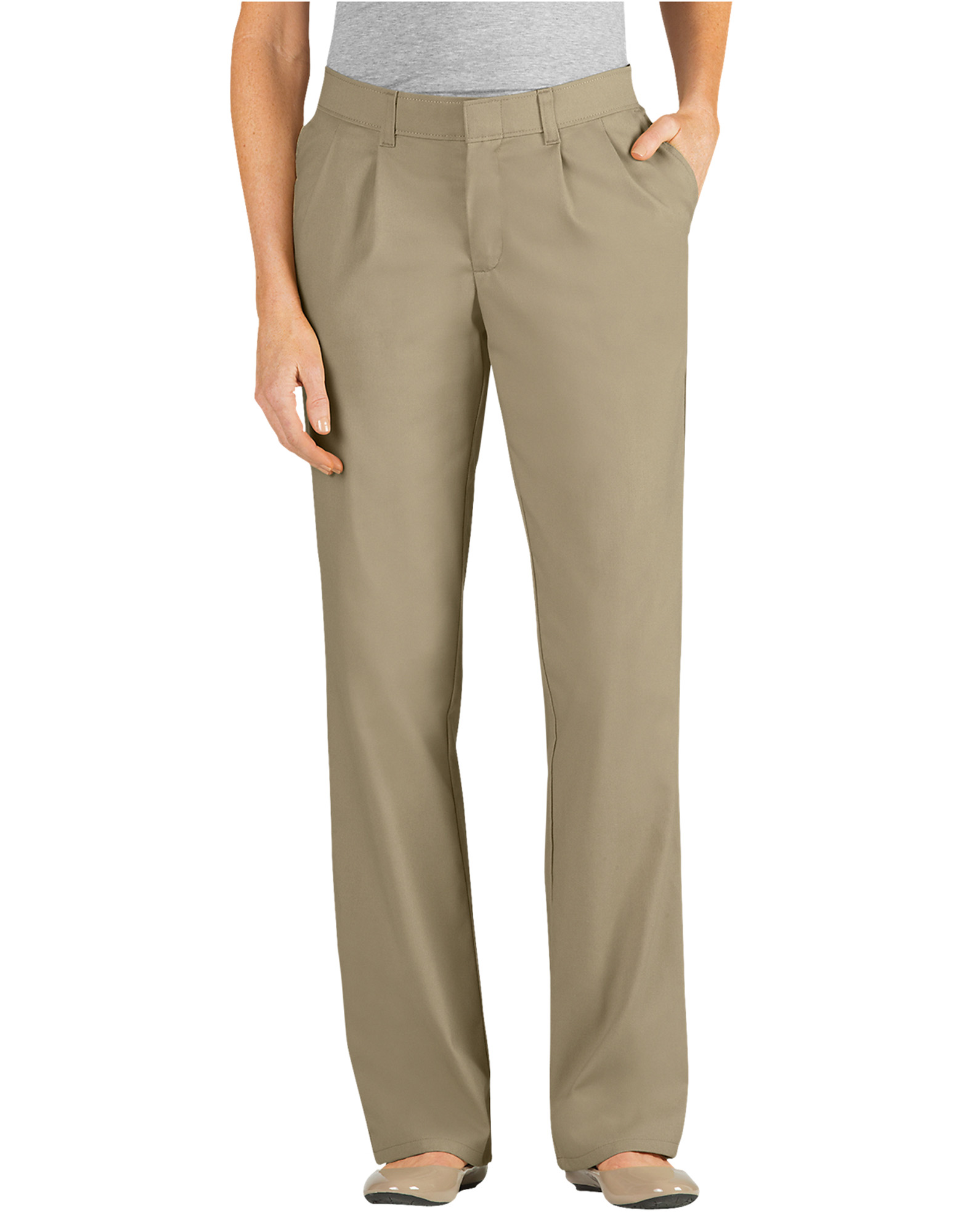 1e2243ed Women's Clearance, Tan, White Relaxed Fit | Dickies